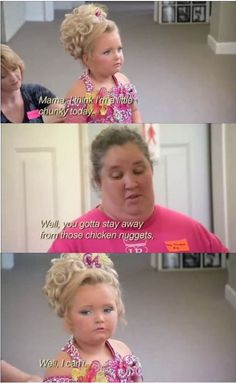 I don't watch Honey Boo Boo but this is seriously funny