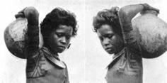 Motu kadidiha or armpit tattoo ca 1915, Papua New Guinea