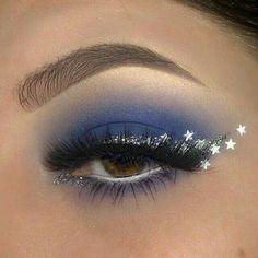 Beautyful eye Make-up art.✨ discovered by Mone🐾💄🧜♀️ - Sieglind Elinger - Beautyful eye Make-up art.✨ discovered by Mone🐾💄🧜♀️ imagen descubierto por Mone. Descubre (¡y guarda!) tus propias imágenes y videos en We Heart It - Makeup Eye Looks, Eye Makeup Art, Cute Makeup, Pretty Makeup, Eyeshadow Makeup, Star Makeup, Glitter Makeup Looks, Sparkly Eye Makeup, Bold Eye Makeup