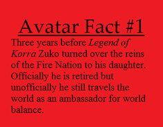 ok. maybe we'll see him in season 2 of the legend of korra