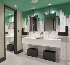 Parce que c'est une pièce importante, voici une jolie idée déco pour une salle de bain... Pour qu'elle sorte un peu de l'ordinaire.