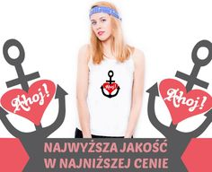 koszulka TOP biały damski S DUŻY WYBÓR WZORÓW dtg