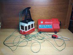 Vintage Lehmann Rigi Electric Cable Car Tram Toy (For Parts or Repair) | Toys & Hobbies, Vintage & Antique Toys, Other Vintage & Antique Toys | eBay!