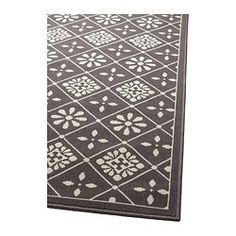 IKEA - SNEKKERSTEN, Rug, low pile, Suitable for use underneath your dining table, as the flat-woven surface makes it easy to pull out chairs and clean.Durable, stain resistant and easy to care for since the rug is made of synthetic fibers.