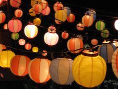 Pix For > Japanese Festival Lanterns