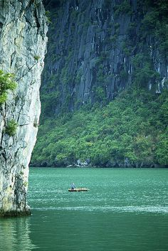 UNESCO World Heritage Site, Halong Bay, Vietnam.
