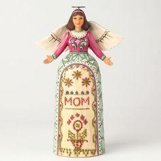 Jim Shore Angel Mom Figurine