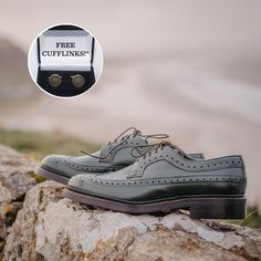 From today until the end of March, we're giving away a free pair of Robinson cufflinks with every pair of our NEW Robinson Andrew Jackson brogues in olive grain! Only at our Belfast store. 👞 T&Cs apply. Ask in-store for details. Andrew Jackson, Belfast, Brogues, Shoe Brands, Sperrys, Boat Shoes, Cufflinks, March, Footwear