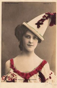 Fabulous Old Photo - Lady in Pierrot Costume - The Graphics Fairy