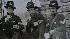 Wounded at the Battle of Gaines Mill during the 1862 Peninsula Campaign, Pennsylvania infantryman Jacob Hefflefinger, right, recovered at the Chesapeake Military Hospital, which was part of the Union's massive Hampton hospital complex. He later founded a prosperous Hampton lumberyard near the King Street wharf and served as a vestryman of historic St. John's Church