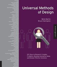 Universal Methods of Design: 100 Ways to Research Complex Problems, Develop Innovative Ideas, and Design Effective Solutions by Bruce Hanington http://www.amazon.com/dp/1592537561/ref=cm_sw_r_pi_dp_O1tjvb1T58SFV