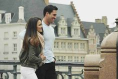 Andi Dorfman and Josh Murray Stay Close While Touring Ghent in Episode 7