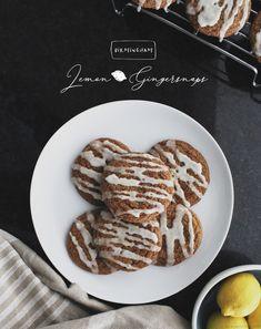 Birmingham Lemon-Ginger Cookies #baking #cookies #foodie Ginger Cookies, Birmingham, Waffles, Lemon, Baking Cookies, Breakfast, Recipes, Food, Life
