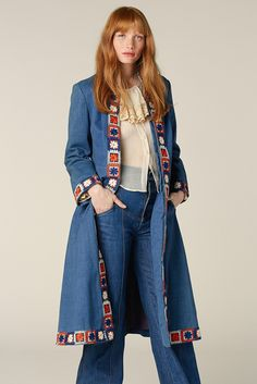 The Wind Cries Mary Denim Coat