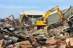 DEMOLITION WORK AT JCB SITE ON COURSE FOR MARCH FINISH