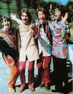 The Beatles, 1967 ... great jackets.