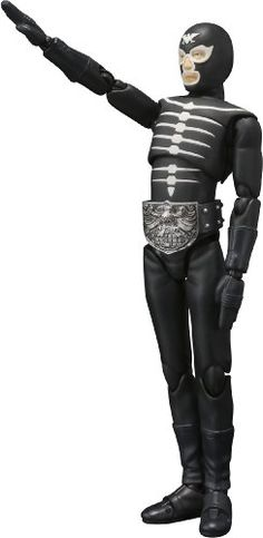 Bandai Tamashii Nations Shocker Combatman Masked Rider  SHFiguarts Action Figure -- Want to know more, click on the image.