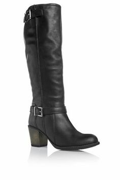 Buy Buckle Long Boots from the Next UK online shop