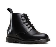 0776bb40b2d3 Dr martens emmeline polished smooth. drmartens.com. Martens Emmeline 5 Eye  Boot ...