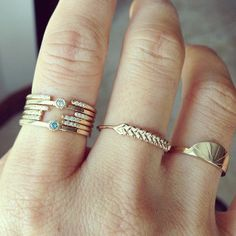 Jennie Kwon Designs / Stacked Fingers