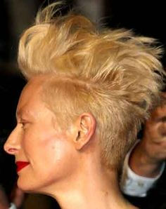 Tilda's hair