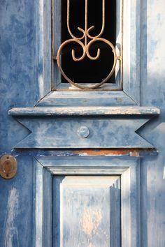 From Greece Corfu, Door Knockers, Beautiful Homes, Islands, Greece, Windows, Doors, Photography, House Of Beauty