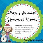 This winter themed packet includes 4 math centers. If you use the mClass math testing for your 2nd graders, these are very helpful! 1. Missing Nu...
