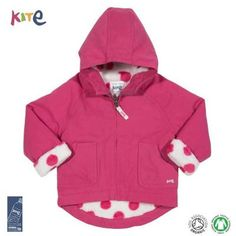 Veste manteau coton bio bebe enfant modele go coat mini par kite kids clothing bg260 1