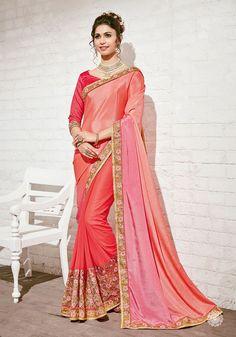 Peach Saree, Sari, Outfit, Fashion, Saree, Outfits, Moda, Fashion Styles