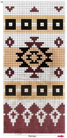 Ideas crochet patterns tapestry for 2019 Mochila Crochet, Bag Crochet, Crochet Purses, Crochet Chart, Filet Crochet, Tapestry Crochet Patterns, Bead Loom Patterns, Beading Patterns, Motif Navajo