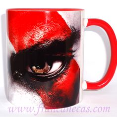 Caneca Personalizada Kratos | Francanecas.com
