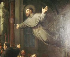 Lessons from the Divine Office for St. Joseph of Cupertino, Confessor: . Joseph was born of godly parents at Copertino, a small vil. Catholic Prayers, Catholic Saints, Patron Saints, Roman Catholic, St Joseph Of Cupertino, Religion Catolica, Secret Location, Divine Mercy, Carl Jung