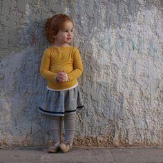 Grey skirt by machooka.