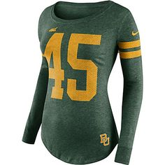 Nike Baylor Bears gameday women's long sleeve T-shirt