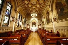 Basilica & Shrine of our Lady of Perpetual Help - The Mission Church, Chapel area, a Roman Catholic church in Boston, USA