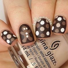 Beautiful nail art designs that are just too cute to resist. It's time to try out something new with your nail art. Christmas Nail Stickers, Christmas Nail Art, Holiday Nails, Holiday Fun, Love Nails, Fun Nails, Pretty Nails, Dot Nail Art, Polka Dot Nails