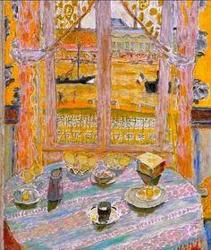 "Pierre Bonnard ""I haven't lived with that long enough to paint it."" (Pierre Bonnard) When I hear the name ""Pierre Bonnard,"" I think first of color — riveting, scintillating color wit… Pierre Bonnard, Paul Gauguin, Renoir, Edouard Vuillard, Henri Matisse, Love Art, Monet, Oeuvre D'art, Painting Inspiration"