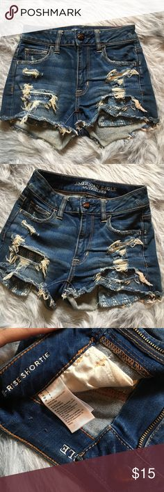 American eagle 🦅 shorts Size 0 🚫 sorry no trades and price is firm American Eagle Outfitters Shorts