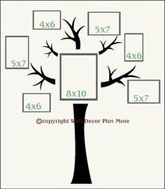 Decorating with Wall Vinyl: Family Tree Wall Sticker