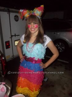 Best Pinata Costume for a Woman... Coolest Halloween Costume Contest