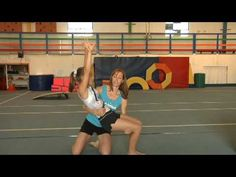 When performing a back handspring, start with the arms up, place the knees over the feet and push through with the toes. Fall back in a backwards motion and . Gymnastics Tricks, Gymnastics Coaching, Gymnastics Workout, Cheer Coaches, Cheer Mom, Back Handspring Drills, Tumbling Tips, Cheer Practice, Vsco Pictures
