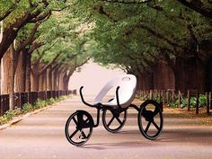 Recreational Hybrid Bikes - C-bike by Reza Sumirat is a Chair and a Vehicle