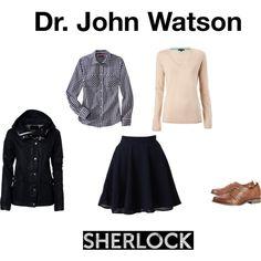 Dr. John Watson by felromero on Polyvore