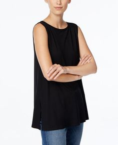 Eileen Fisher Sleeveless Tunic
