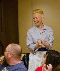Tilda Swinton On Her Role as The Ancient One in DOCTOR STRANGE Movie #DoctorStrangeEvent