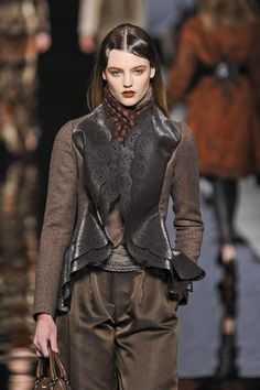 cool chic style fashion: Etro Autumn (Fall) / Winter 2012