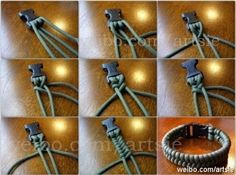 Paracord braclet... or collar for Lana