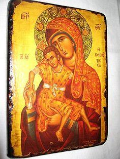 panagia kikotisa handmade Greek Christian Orthodox Byzantine icon
