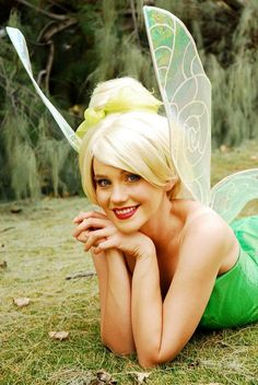 TINKERBELL inspired adult costume wig by CouturePrincessWigs, $185.00