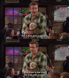 "When he made a new friend. | 23 Times Marshall Was Clearly The Best ""HIMYM"" Character"